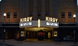Kirby Rebirth facade and marquee