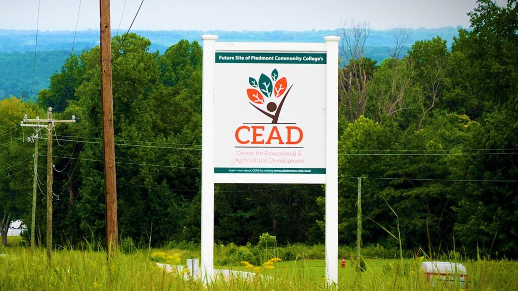 CEAD sign