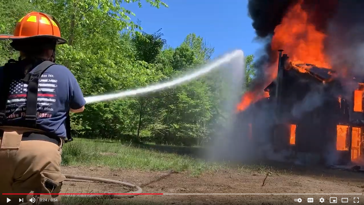 Fire Fighter Training at PCC